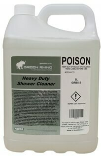 ******* GRSC ******* Green Rhino Shower Cleaner - 5 & 20 Litres Available