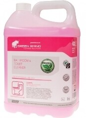 ** GRBTC-ENVIRO ** Green Rhino ENVIRO Bathroom & Toilet Cleaner, BIODEGRADABLE  - 5 & 20 Litres Available