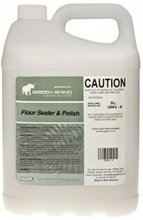 ******* GRFSP ******* Green Rhino Floor Sealer & Polisher - 5 Litres