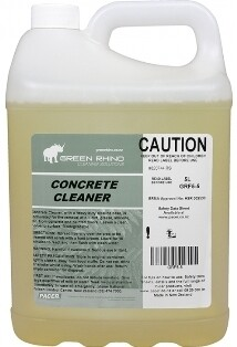 ******* GRCC ******* Green Rhino Concrete Cleaner - 5 & 20 Litres Available