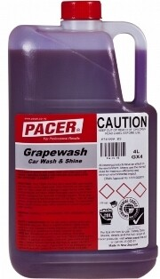 ****** PGCBW4 ****** Pacer Grape Car/Boat Wash, BIODEGRADABLE - 4, 20 & 200 Litres Available