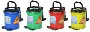 *** PCWB16 *** PureCLEAN Wringer Buckets - 16 Litres, 4 Colours
