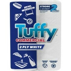 ****** TKPT60 ****** TUFFY 2PLY Kitchen Handy Towels, 60 sheets x 18 rolls