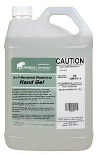 ******* GREHS ******* Green Rhino Evaporating Liquid Hand Sanitiser, 70% Ethanol, Frangranced - 5 Litres