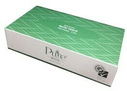 ****** EF100 ****** PureECO 2PLY RECYCLED Facial Tissues, 100 sheets x 48 packs