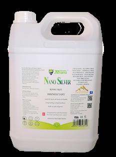 ******* NSD5 ******* Nano Silver Chemical & Alcohol Free Multipurpose Sanitiser REFILL
