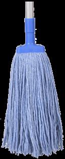 *** PCBMH350 *** PureCLEAN BLUE Cotton Mop Heads - 350gm's