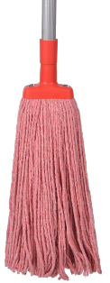 *** PCRMH350 *** PureCLEAN RED Cotton Mop Heads - 350gm's