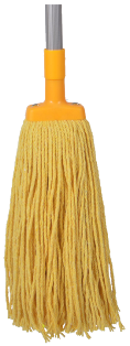 *** PCYMH350 *** PureCLEAN YELLOW Cotton Mop Heads - 350gm's