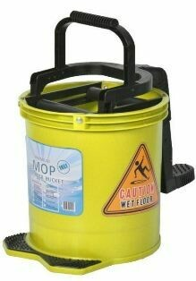 *** PCYWB16 *** PureCLEAN YELLOW Wringer Buckets - 16 Litres