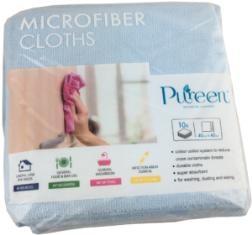*** PCMCB40 *** PureCLEAN Microfibre Cloths, BLUE, 40cm