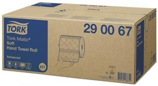 *** TPT150-2PLY *** Torkmatic Advanced 2PLY WHITE Centrefeed Paper Towels, H1 System, 150 metres per roll x 6 rolls