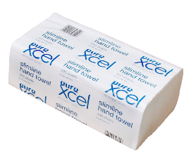***** XH200 ***** PureXCEL 1PLY VIRGIN Deluxe Slimfold Paper Towels, 200 sheets x 16 packs