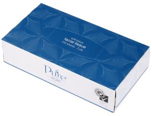 ****** XF100 ****** PureXCEL 2PLY ENVIRO Facial Tissues, 100 sheets x 48 packs