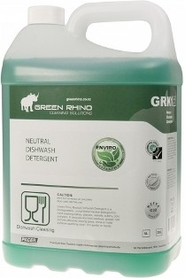 ** GRNDD-ENVIRO ** Green Rhino ENVIRO Neutral Dishwashing Detergent, BIODEGRADABLE - 5 & 20 Litres Available