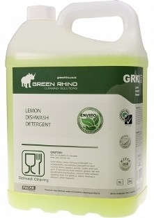 ** GRLDD-ENVIRO ** Green Rhino ENVIRO Lemon Dishwashing Detergent, BIODEGRADABLE - 5 & 20 Litres Available