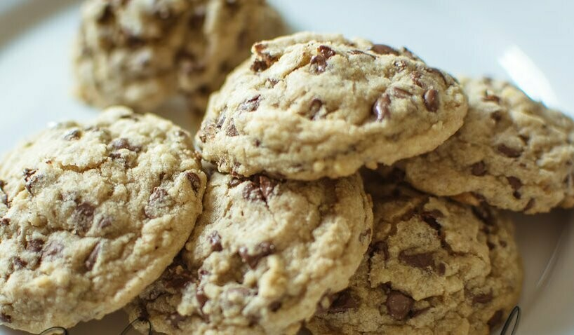SIGNATURE Chocolate Chip Cookies with finely chopped walnuts