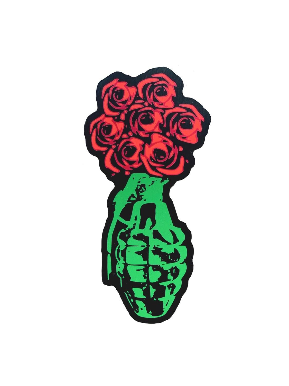 Peace Petals Sticker