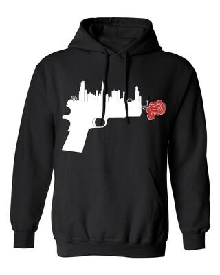 Guns Down Black Hoodie