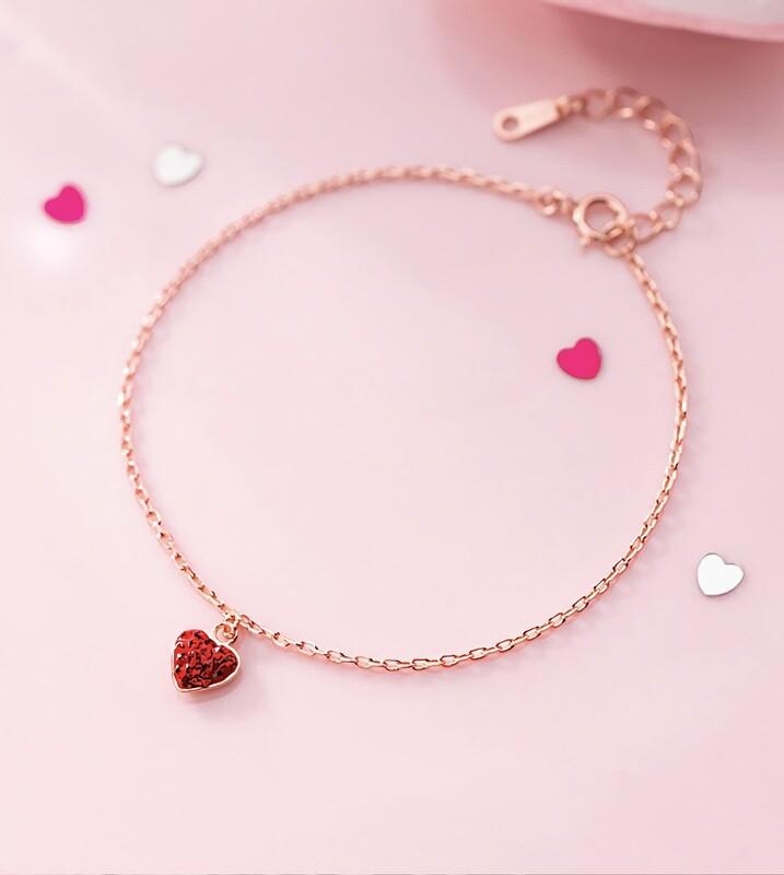 Love 925 Sterling Silver Bracelet