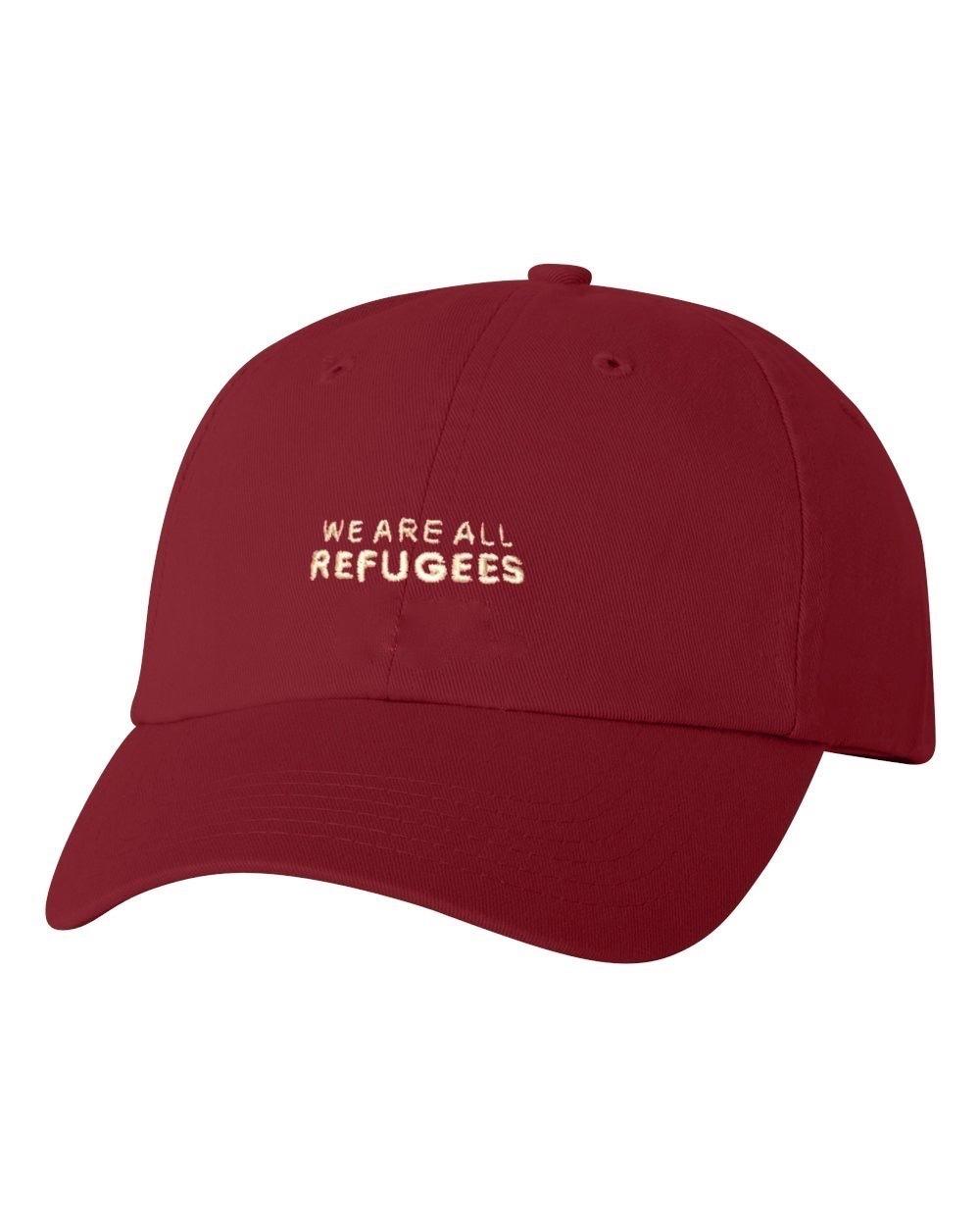 All Refugees Cardinal Dad Cap