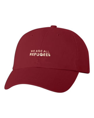 All Refugees Cardinal Dad Cap