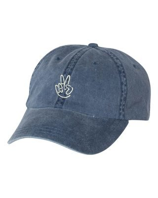 Peace Denim Dad Cap
