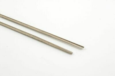 SWITCH BLADES BULL HEAD NICKLE SILVER TYPE B ONE PAIR