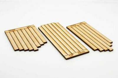 POINT TIMBERS ( TIMBER )  THIN 1.6MM  PACK 40           7MM