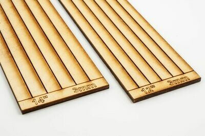 """POINT TIMBERS  12"""" X  3.0MM X 220MM           SPRUE OF 6"""