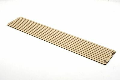 SLEEPER STRIPS TIMBER 4 MM 12' X 220MM X 0.8MM THIN PACK 50