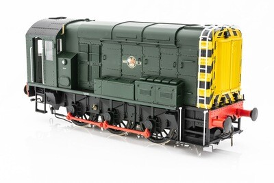 DAPOL CLASS 08 GREEN WITH WASP STRIPS LATE CREST UN NUMBERED