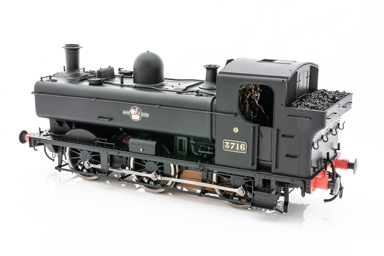 57XX BR LATE CREST BLACK 3716