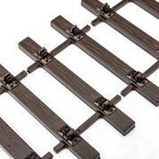 FLEXITRACK - NEW BASE TRACK PANELS 32MM   2 METERS (WITHOUT RAIL)