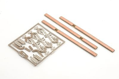 POINT STRETCHER /  7MM O Gauge Tie Bar etch-copper clad x 3