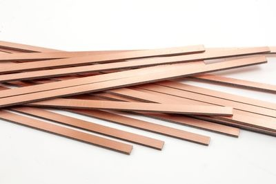 COPPERCLAD STRIPS 10'  3.3MM X 1.6MM X 220MM PACK 20