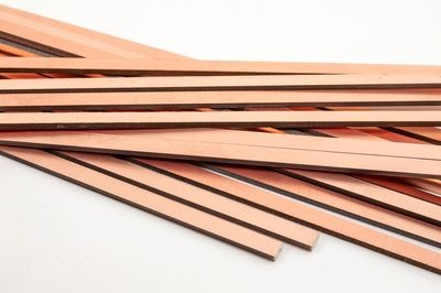 COPPERCLAD STRIPS 12'  4MM X 1MM X 220MM PACK 20