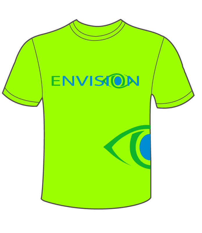 Safety Green - Envision Field T-shirt