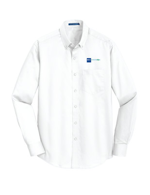 Beck-Envision Men's Button Down: S663 Port Authority® SuperPro™ Twill Shirt