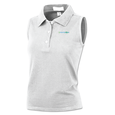 Envision Women's Sleeveless Polo: BAW Women's Sleeveless Polo