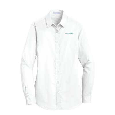 Envision Women's Button Down: L663 Port Authority® Ladies SuperPro™ Twill Shirt