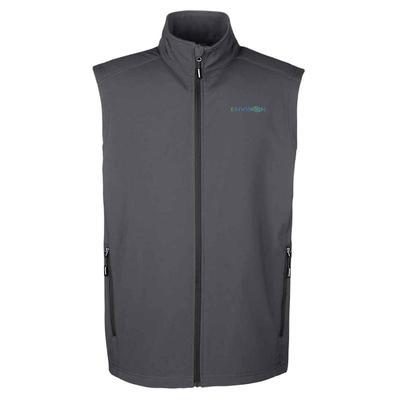 Envision Men's Vest: CE701 Ash City - Core 365 Men's Cruise Two-Layer Fleece Bonded Soft Shell Vest