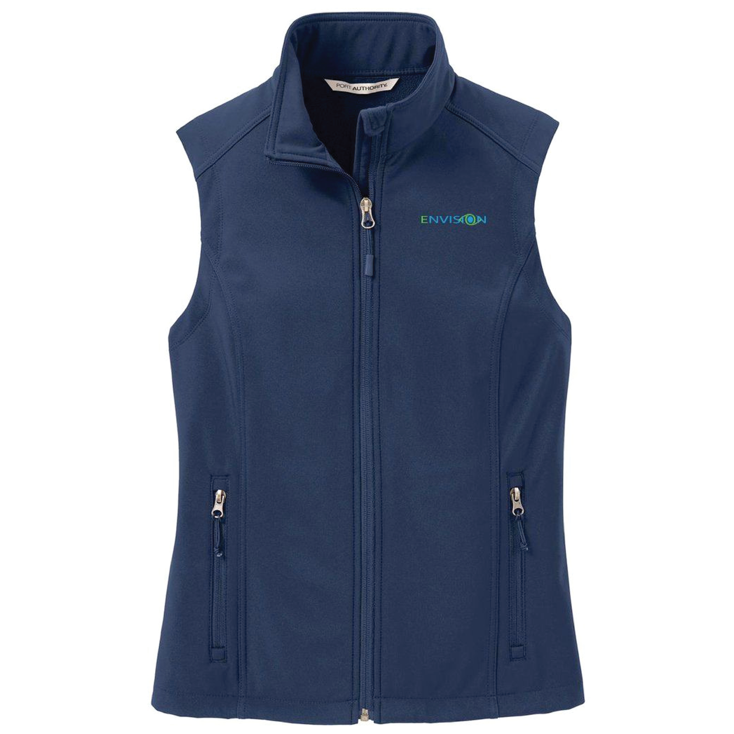 Envision Women's Vest: L325 Port Authority Women's Core Softshell Vest