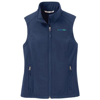 Envision Women's Vest: L325 Port Authority Women's Core Softshell Vest