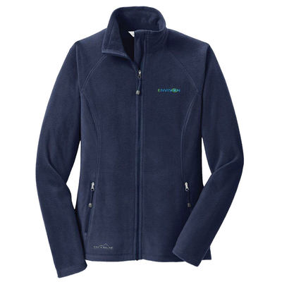 Envision Women's Microfleece Jacket: EB225 Eddie Bauer Women's Full-Zip Microfleece Jacket