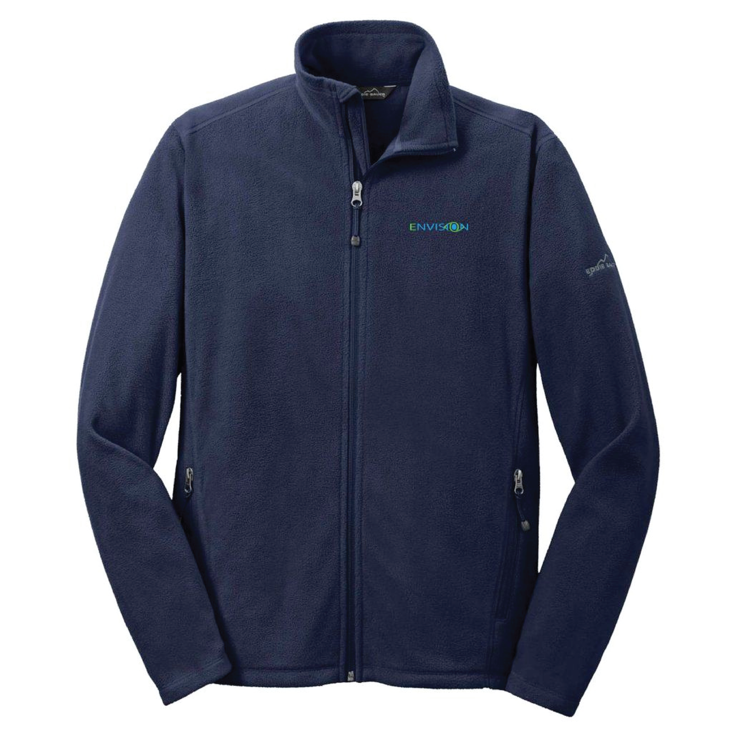 Envision Men's Microfleece Jacket: EB224 Eddie Bauer Men's Full-Zip Microfleece Jacket