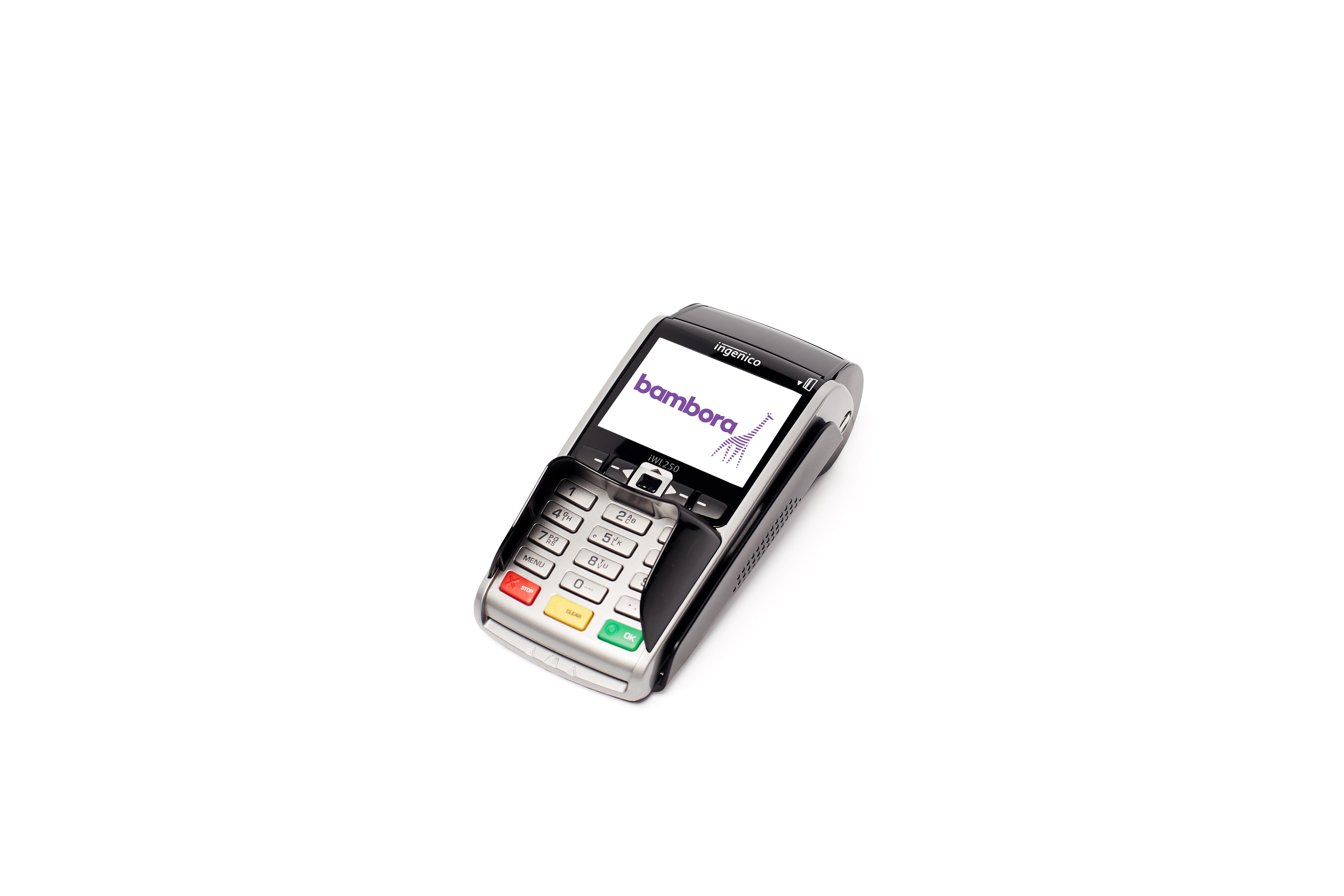 Korttidsleie betalingsterminal