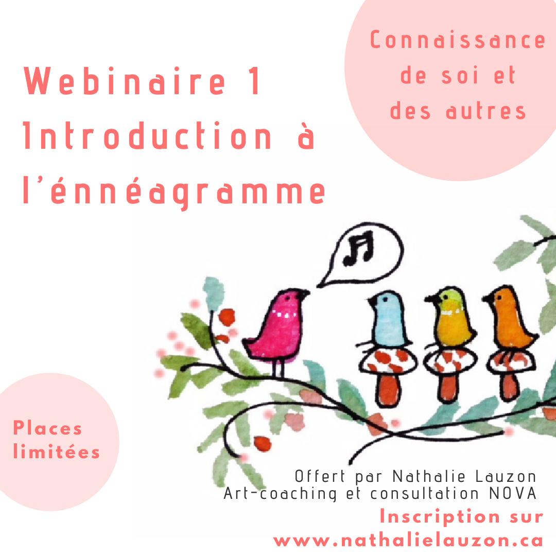 Introduction à l'énnéagramme 25 juin 13h00