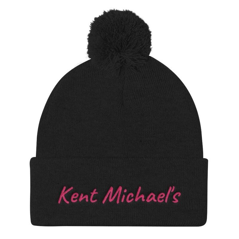 Kent Michael's - Pom Pom Knit Cap