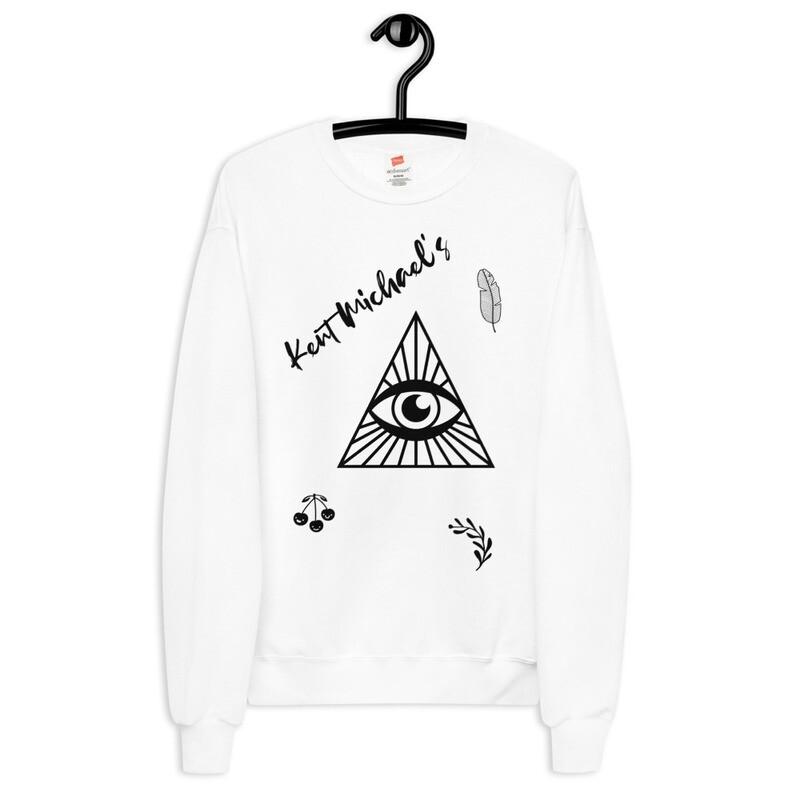 KM EYE  - Unisex fleece sweatshirt